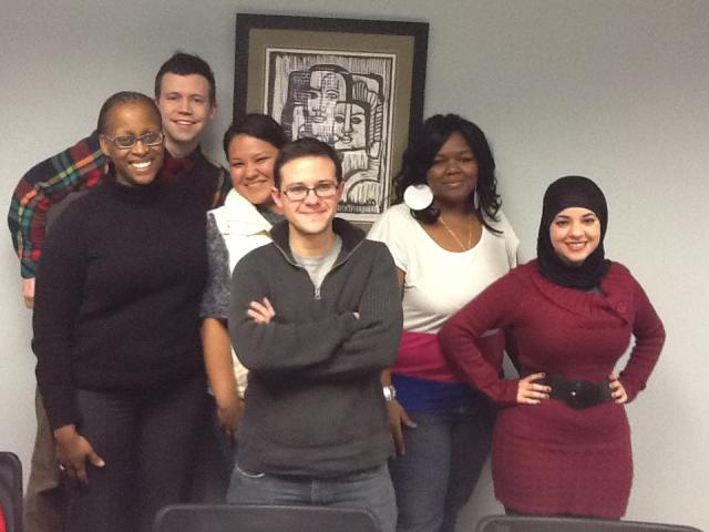 Crossroads Fund Staff with the 2012 Youth Fund Grantmaking Team.
