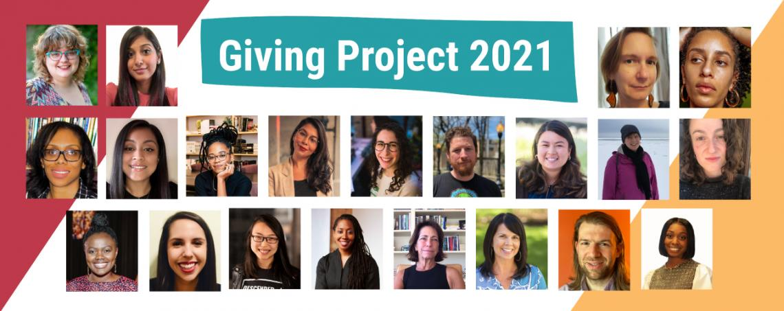 Giving Project 2021 Cohort